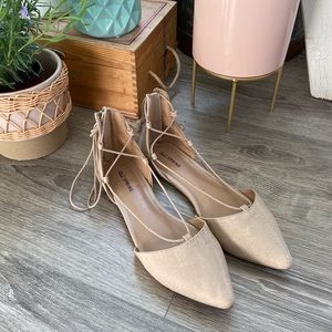 Spring Pointed Ballet Flats